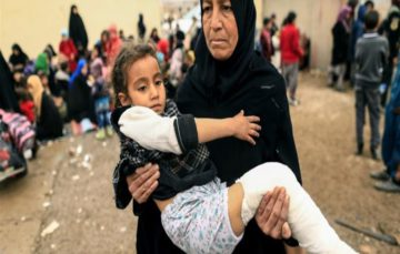 UN: 4,000 civilians flee Mosul each day amid fighting