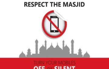 The latest invasion in our Masjids