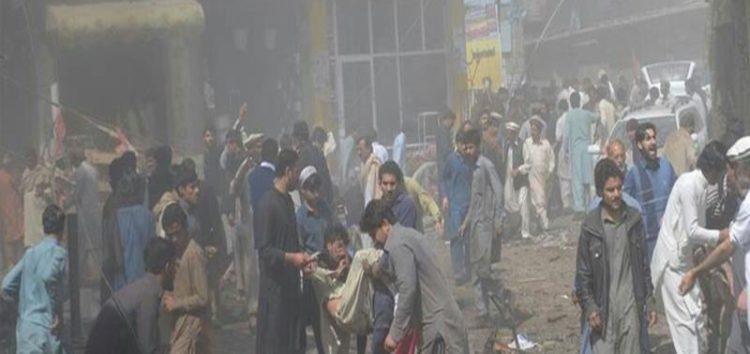 Blast rocks city in north-west Pakistan