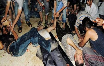 US sanctions Syria officials over Sarin gas attack