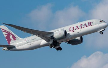 Qatar Airways provides laptops on US flights