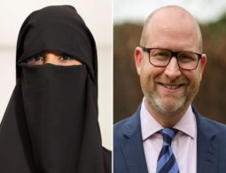UK's far-right party, UKIP, focuses on niqab & Sharia ban in election campaign