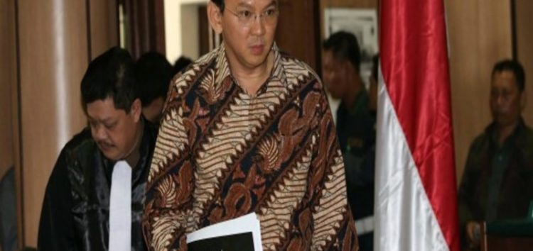One-year jail term for Jakarta governor following blasphemous statements about The Qur'an