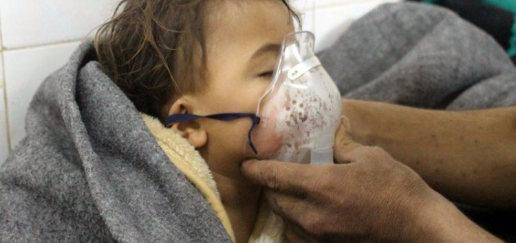 Gruesome Syria gas attack: 'We found bodies all over the floor'