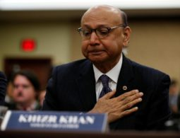 Khizr Khan: Father of fallen Muslim-American soldier decries Donald Trump's 'Muslim travel ban'