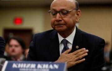 Khizr Khan: Father of fallen Muslim-American soldier decries Donald Trump's 'Muslim travel ban'