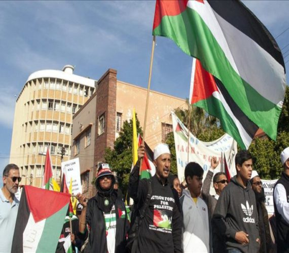 Palestinian hunger strike sparks South African campaign