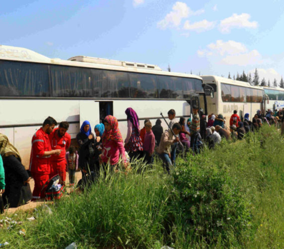 Syria evacuations resume days after bombing: reports #SyriaWar