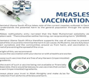 Jamiat gives the green light for measles vaccine