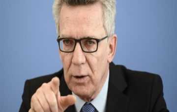 Germany's Interior minister De Maiziere criticised over 'dominant culture' comments