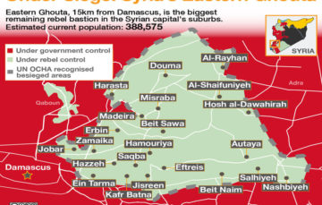#SyriaWar: Residents of besieged Ghouta fear it is time to flee