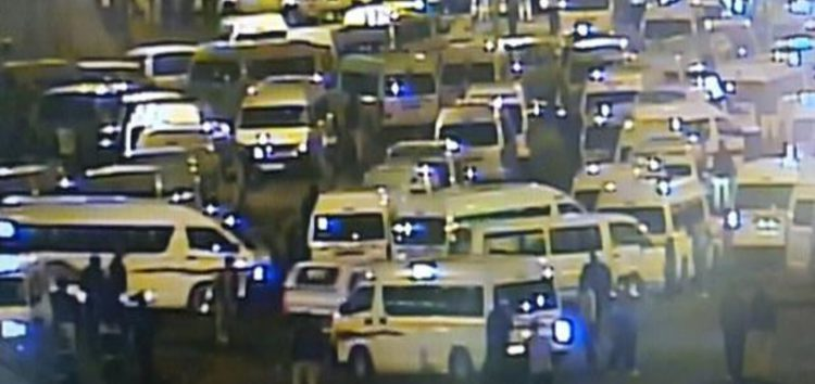 Taxi protest sparks chaos on Durban roads