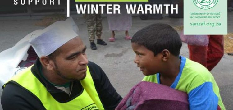 #SANZAF – Equipping communities against the icy weather