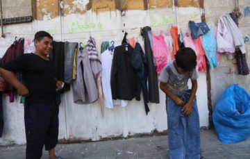 Gaza's 'Wall of Blessings' for Eid keeps spirits high