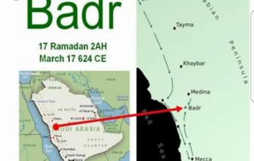 The battle of Badr – A true example of courage and bravery