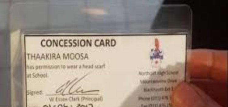 'Concession cards' for Muslim pupils likened to apartheid dompas