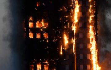 Huge fire engulfs tower block in west London, Multiple fatalities reported