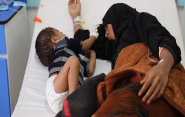 One child infected every 35 seconds as Yemen cholera outbreak spreads rapidly