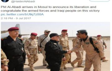 Iraqi armed forces defeat Islamic state, take back Mosul