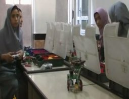 Despite the rocky start, Afghan girls' team shines at US robotics competition