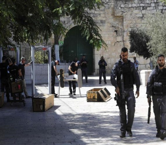 Israel tightens grip on al-Aqsa, increasing calls for protest