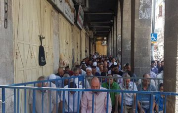 Merchants threatened with fines following closure of Al Aqsa