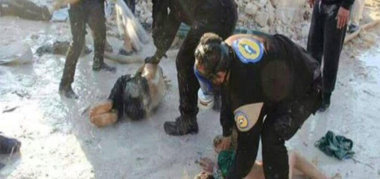 Syrian regime's gas attack leaves 10 hospitalized