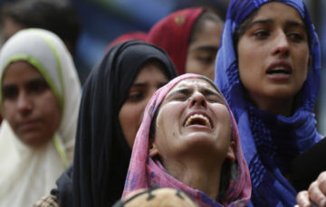 Indian forces kill 3 and injure 35 civilians in Kashmir