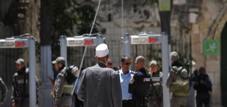 Israel says Al-Aqsa metal detectors will stay, may be reduced