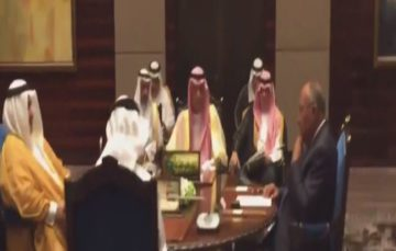 Four Arab countries boycotting Qatar meet in Bahrain to reiterate demand that Doha 'stops funding terror'