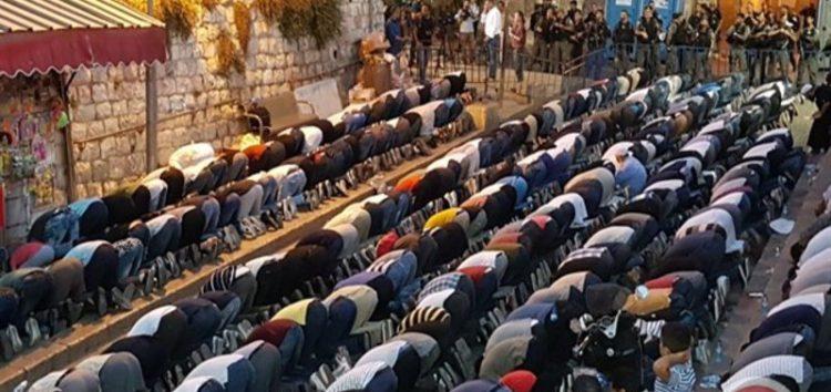 Religious leaders call on Palestinians in Jerusalem to pray Jumuah Salaah at Masjid Al Aqsa