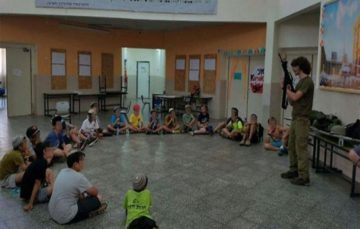 Israel gives settler children firearms training