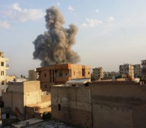US-led coalition air strikes kill 10 civilians in Raqqa: SOHR