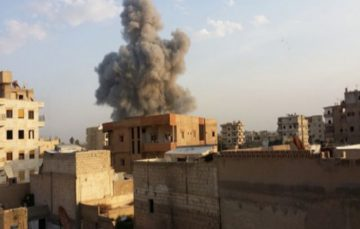 US-led coalition air strikes kill 10 civilians in Raqqa: SOHR
