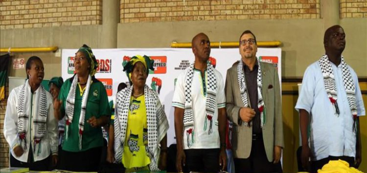 South African MPs turn down meeting with Israeli group