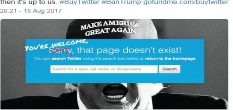 Ex-CIA agent seeks to buy Twitter – just so she can ban Trump