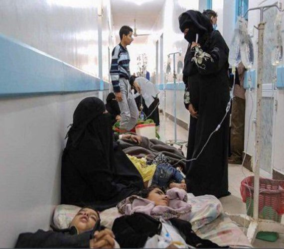 WHO: Yemen records 500,000 cholera cases, nearly 2,000 deaths
