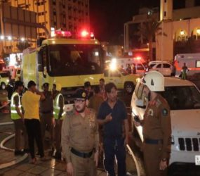 Fire breaks out in 15-story Makkah hotel, 600 hujaaj evacuated