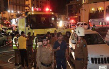 Fire breaks out in 15-story Makkah hotel, 600 hujaaj evacuated