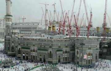 Construction work set to resume at Masjid Al Haram,Makkah
