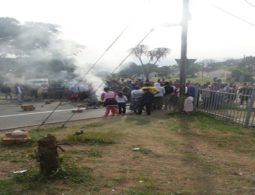 Protests erupt over Howell road evictions