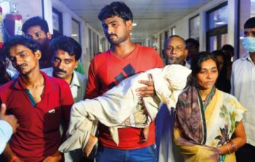 64 children die in India hospital oxygen shortage