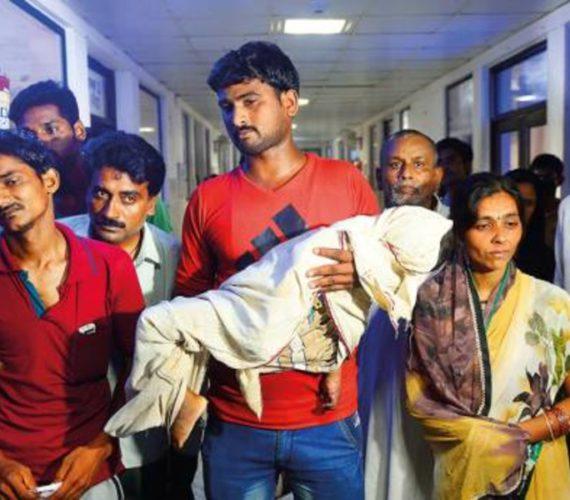 64 children die in India hospital oxygen shortage