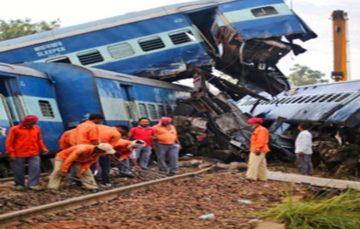 Third Indian train derails in 10 days