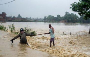 Floods, landslides kill scores across Nepal and India
