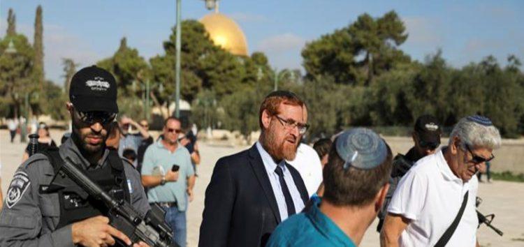 Israeli legislators enter al-Aqsa Mosque compound after PM Netanyahu lifts a ban on MK visits to the site