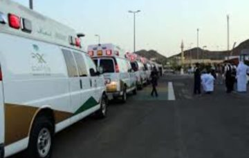 Medical caravan carrying 21 pilgrims leave for Makkah