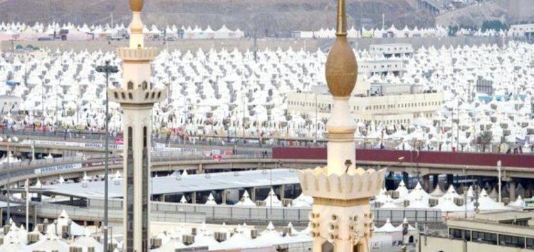 Mina all set and ready for hujaaj #Hajj1438