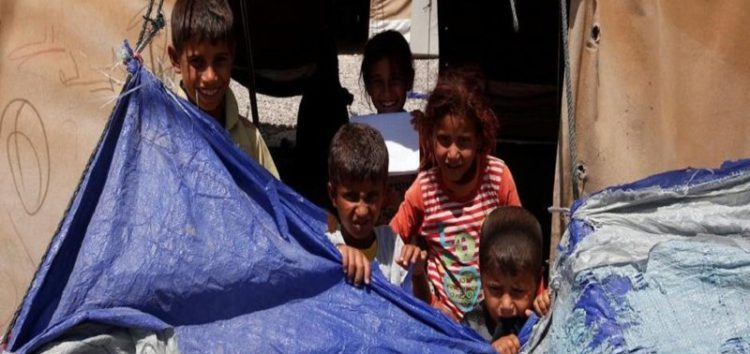 Lives of displaced Iraqis in Salamiya Camp look grim