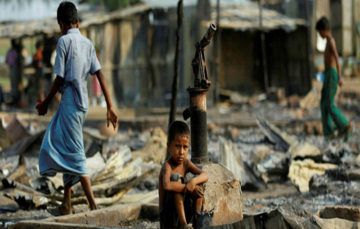 Scores of Rohingya Muslims killed: 'Even a baby was not spared by the army'